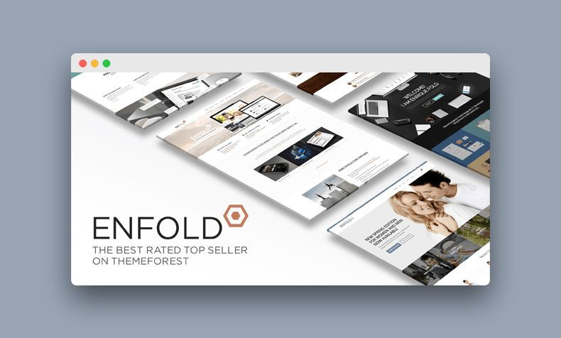 Enfold plantilla multiproposito de Wordpress