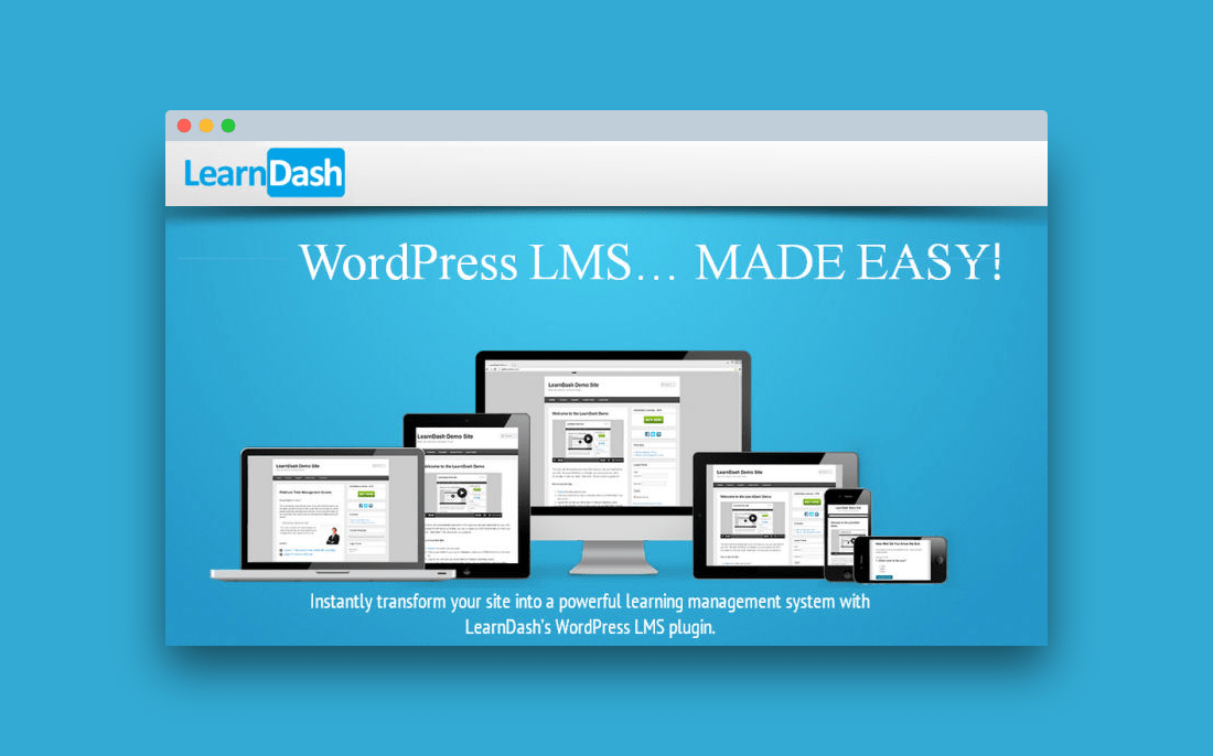 Learn Dash: plugin de wordpress para montar academias online