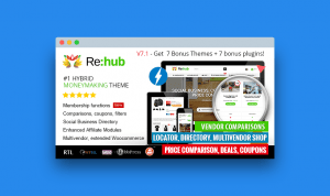 Rehub: tema wordpress para afiliados y marketplaces