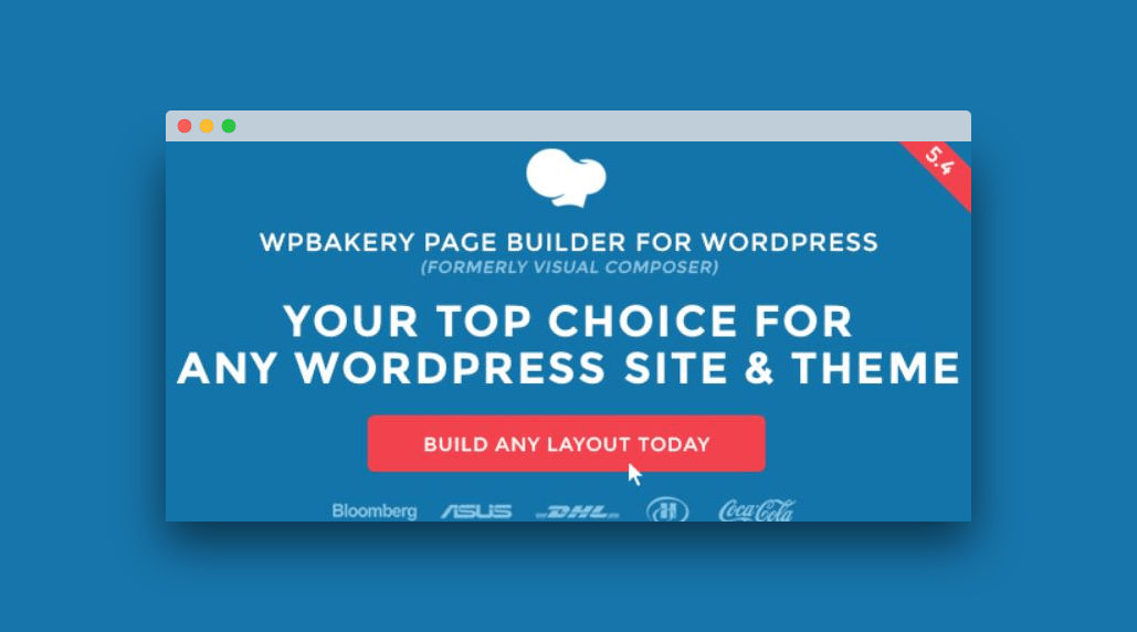 WPBakery plugin para wordpress