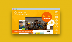 Eduma 4.0.0 Education WordPress Theme