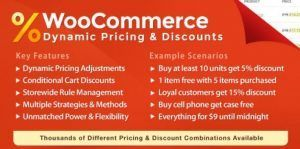 WooCommerce Dynamic Pricing & Discounts 2.3.3