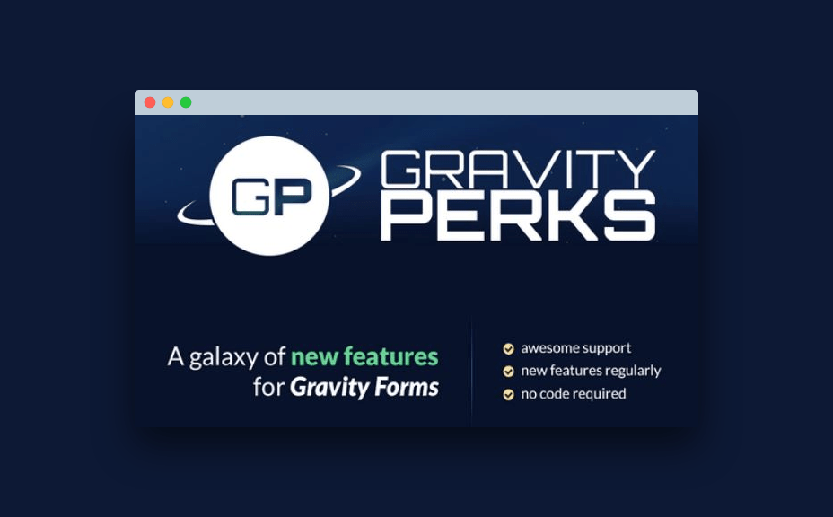 Gravity Perks potencia gravity forms