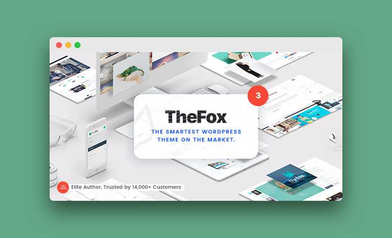 TheFox plantilla multiproposito para Wordpress