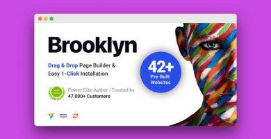 Brooklyn plantilla multiusos para WordPress