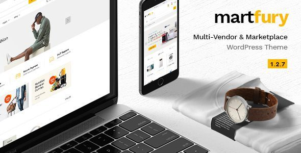 Martfury WooCommerce Marketplace WordPress Theme v2.45.0