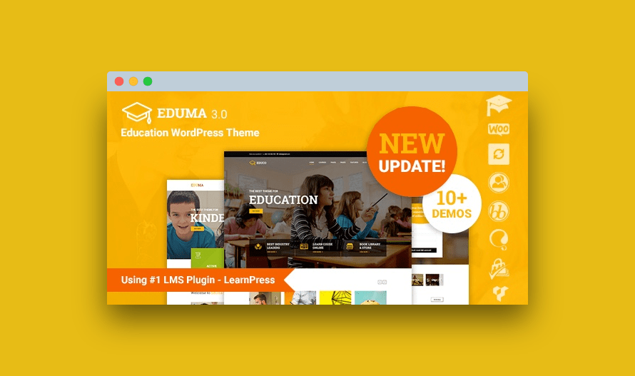 descargar gratis Eduma Education WordPress Theme v4.2.8.3