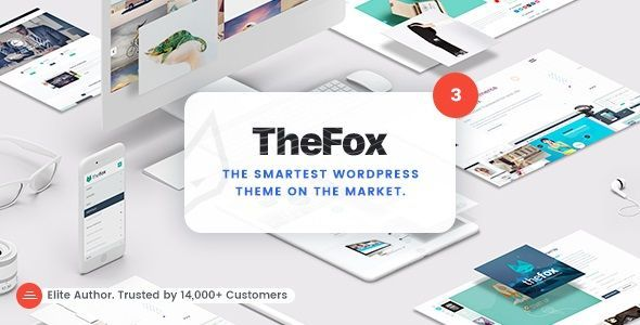 TheFox Responsive Multi-Purpose WordPress Theme v3.9.9.9.7
