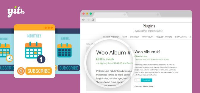 YITH WooCommerce Subscription Plugin v2.0.2
